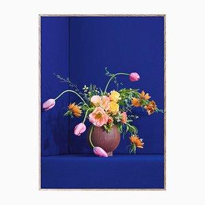 Blomst 01 Blau von The Paper Collective DK