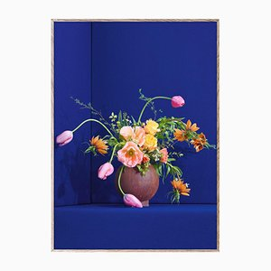 Blomst 01 Blue by The Paper Collective DK