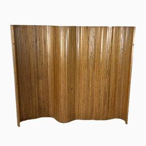 Vintage Wandschirm aus Holz von Alvar Aalto