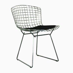 Chaise d'Appoint Vintage en Chrome par Harry Bertoia