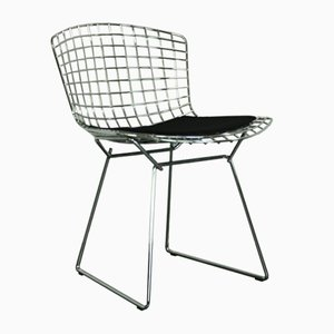Vintage Side Chair in Chrome by Harry Bertoia