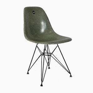 Seafoam Green DSW Chair by Charles Eames for Herman Miller