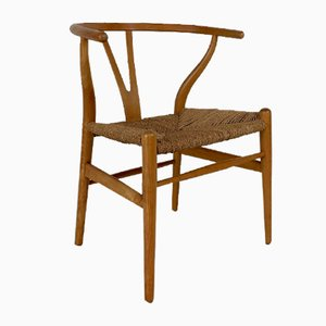 Vintage Wishbone Chair by Hans J. Wegner
