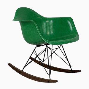 Schaukelstuhl in Kelly Green von Charles Eames für Herman Miller