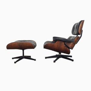 Modell 670 & 671 Sessel und Fußhocker von Charles Eames für Herman Miller