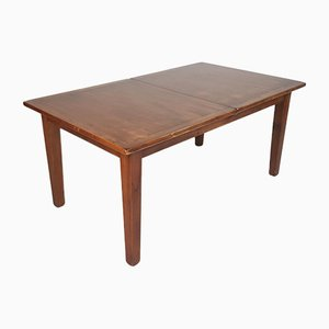 Mid-Century Danish Rosewood Extending Dining Table
