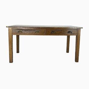 Vintage Oak Prep Table