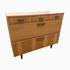 Vintage Cupboard or Chest of Drawers, 1960s or 1970s