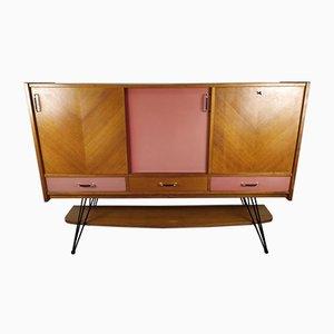 Eichenholz Sideboard im Stil von Charles Ramos, 1950er
