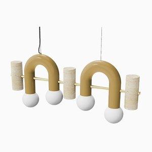 Pyppe Flat Suspension Lamp by Utu Soulful Lighting