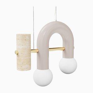 Lampe à Suspension Pyppe Single III par Utu Soulful Lighting