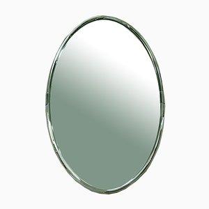 Italian Chromed Mirror, 1970s
