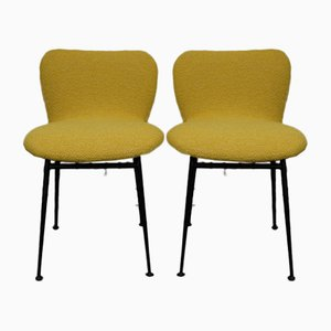 Chaises d'Appoint par Louis Sognot pour Arflex, France, 1950s, Set de 2