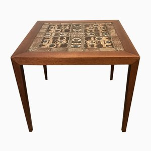 Mahogany Table by Severin Hansen for Haslev