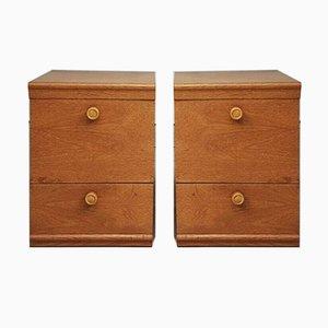 Tables de Chevet Mid-Century, Set de 2