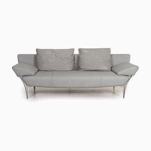 Canapé 1600 Gris en Cuir par Rolf Benz