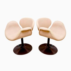 Vintage Tulip Chairs by Pierre Paulin for Artifort, Set of 2