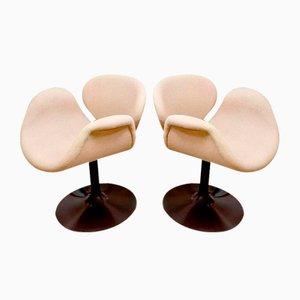 Vintage Tulip Stühle von Pierre Paulin für Artifort, 2er Set