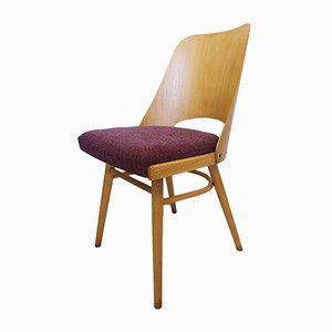 Model 514 Purple Chair by Lubomir Hofmann for TON, 1960s