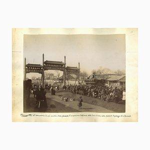 Unknown, Ancient Views of Beijing, Albumen Prints, 1890s, Set of 2