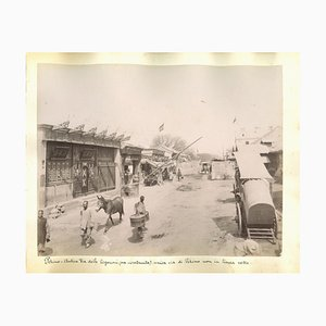 Unknown, Ancient Views of Beijing, Albumen Prints, 1890er, 2er Set