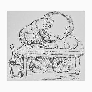 Kritiker, Buch Illustriert von Alfred Kubin, 1920