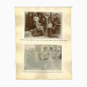 Unknown, Ancient Views of Tientsin, Albumen Prints, 1890s, Set of 3