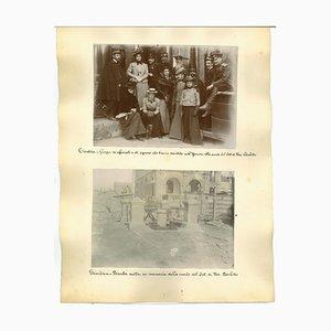 Vues Inconnues, Vues Antiques de Tientsin, Albumches, 1890s, Set de 3
