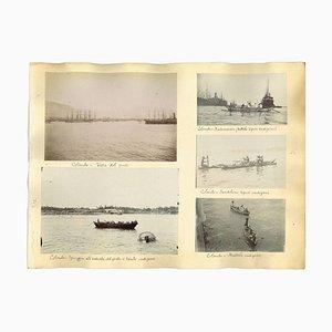 Impressions Albuminées Anciennes de Colombo, 1880s / 90s, Set de 6