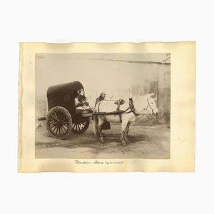 Inconnu, Photographies Ethnographiques Chinoises Anciennes, 1870s, Set de 7