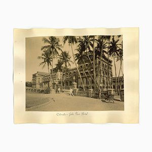 Unknown, Ancient Views of Colombo, Albumen Prints, 1890s, Set of 2