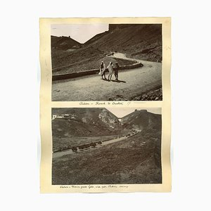 Unknown, Ancient Views of Aden, Original Albumen Druck, 1880er / 90er