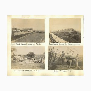 Unknown, Pei-Ho River Photographs, Original Albumen Print, 1890s