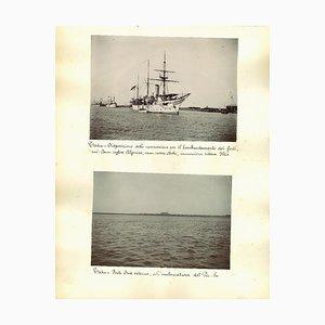 Inconnu, Ancient Views of Taku Forts, Albumen Prints, 1890s, Set of 4