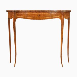 Inlaid Console Table, 20th-Century