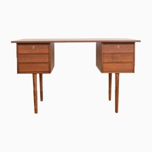 Mid-Century Teak Danish Desk, 1960s