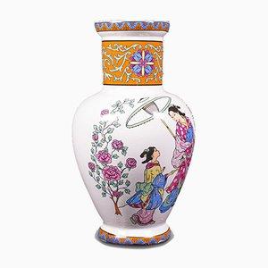 Vintage Japanese Ceramic Posy Vase