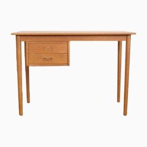 Mid-Century Danish Oak Desk, 1960s