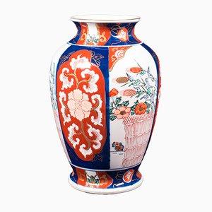 Vintage Japanese Ceramic Baluster Urn, 1940s
