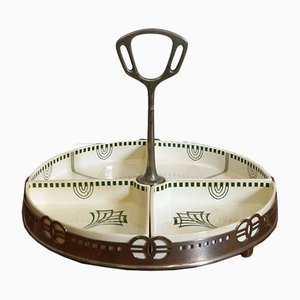 Art Nouveau Serving Platter or Tray Set from WMF & Villeroy & Boch, 1910s, Set of 5