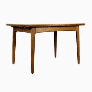 Table de Salle à Manger Extensible en Teck par Svend Aage Madsen pour K. Knudsen & Son, Danemark, 1960s