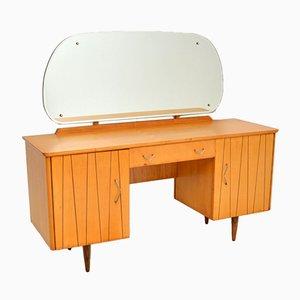 Toeletta vintage in legno satinato