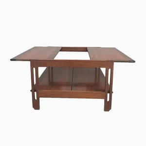 Teak Extendable Coffee Table, 1960s
