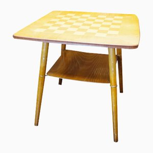Vintage Coffee or Chess Table, 1960s