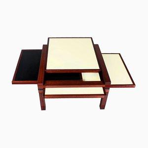 Modularer Par 4 Tisch von Bernard Vuarnesson für Bellato Italy, 1980er
