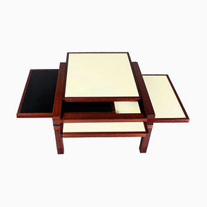 Par 4 Modular Table by Bernard Vuarnesson for Bellato Italy, 1980s
