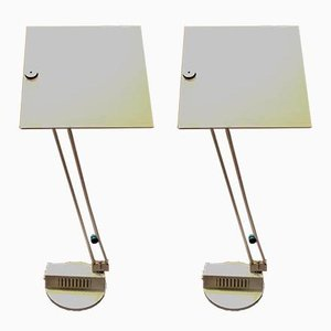 Table Lights by Wo De Sacha Ketoff for Aluminor, Set of 2