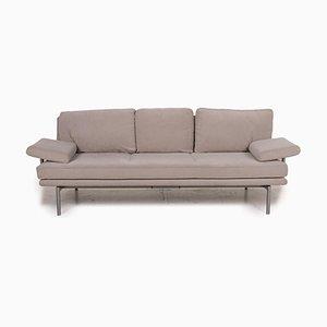 Living Platform Grey Fabric Sofa by Walter Knoll