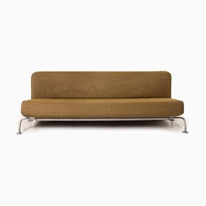 Lunar Olive Green Fabric Sofa Bed by James Irvine for B&B Italia