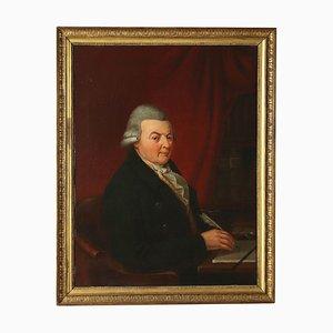 Ritratto maschile, olio su tela